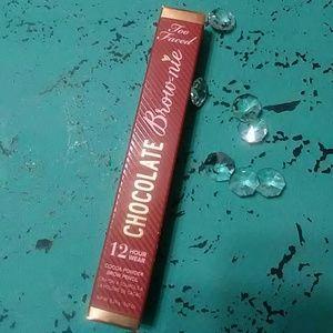 Too Faced cocoa powder brow/eye pencil